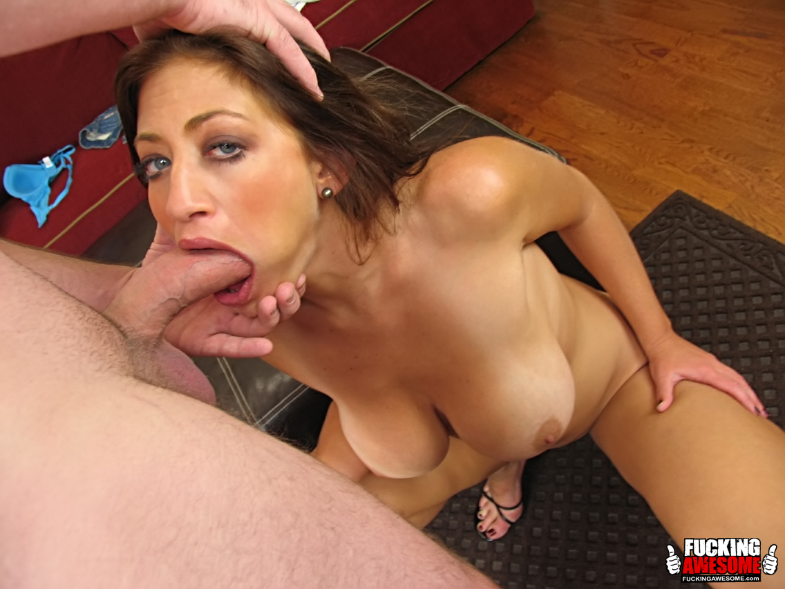 Gagalicious.com - Lucky Benton choking on giant cock